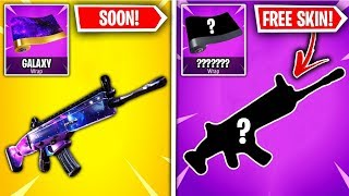 Top 10 Fortnite Weapon Skins RANKED WORST TO BEST! (NEW FREE SKIN??)