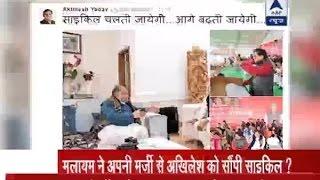 Jan Man: Was 'cycle match' between Mulayam Singh Yadav and Akhilesh Yadav fixed