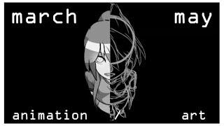 Random Animation(/art) Dump #4:  March - May 2017