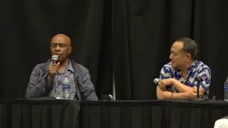 O Comic Con 2018: Roscoe Orman and Alan Muraoka
