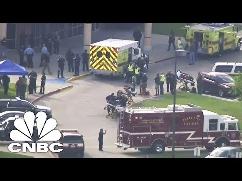 Texas High School Shooting - Authorities Hold News Conference | CNBC