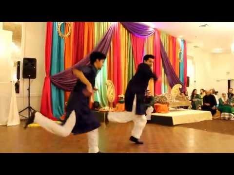 Saad and Anum Best Mehndi Dance of 2015