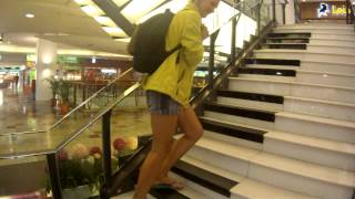 KLCC Time Square Shopping Mall Stairs performance