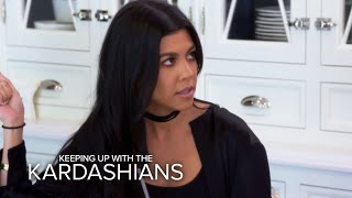 KUWTK | Kourtney Kardashian Conflicted Over Scott's Birthday Party | E!