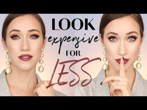 HOW TO MAKE AFFORDABLE MAKEUP LOOK EXPENSIVE ALLIE GLINES