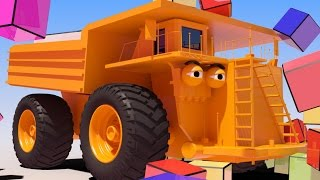 VIDS for KIDS in 3d (HD) - Big Monster Truck Billy and Cubes - AApV
