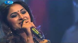 Amar Sham Jodi by Liza | Humayun Ahmed Special Live Concert on Rtv | Bangla Song