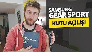 Samsung Gear Sport kutu açılışı - Zarif ve yetenekli akıllı saat!