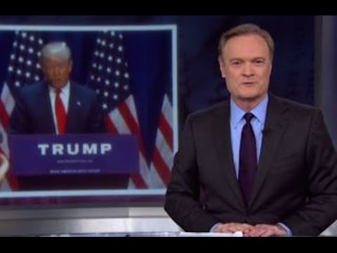 Lawrence O'Donnell Apologizes To Donald Trump
