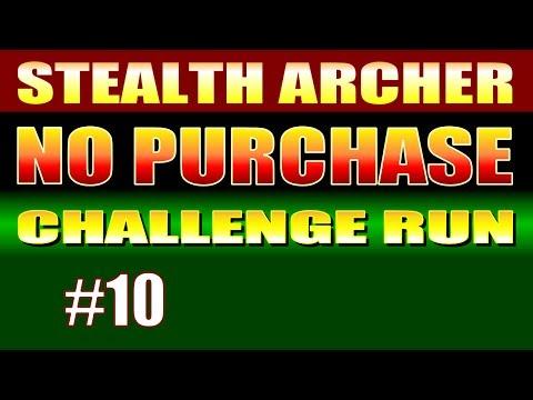 Skyrim Walkthrough NO MONEY CHALLENGE RUN #10 - A Stealth Archer Comes to White River Watch [2/2]
