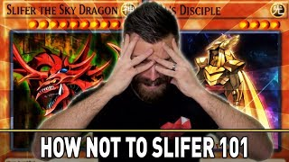 How NOT to Slifer 101 by Twitch Chat | YuGiOh Duel Links Mobile & Steam w/ ShadyPenguinn