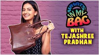 What's In My Bag - Ft.Tejashree Pradhan | Judgement | Ti Saddhya Kay Karte