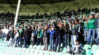 Bursaspor:3-Trabzonspor:3 Kale Arkası Tribün Show