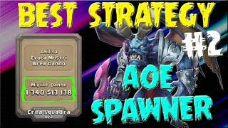 Aoe Spawner 1,34 kkk Strategy - Castle Clash