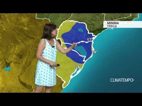 Previsão Sul – Ar seco no PR e SC
