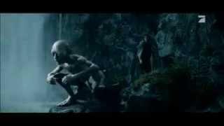 Smeagol singing at the forbidden pool (deutsch/german)