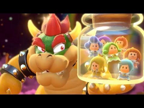 Super Mario 3D World - 100% Walkthrough: World Castle (2 Player)