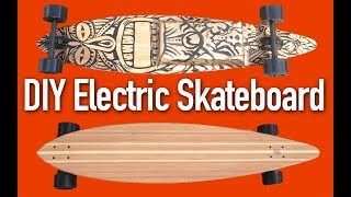 Build a DIY Electric Skateboard or Longboard - it's EASY!