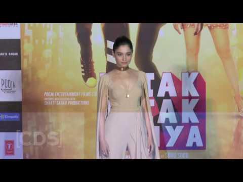 Tamanna HOT Assets At Tutak Tutak Tutiya Movie Trailer Launch