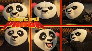 Po's Celebrity Impressions | NEW KUNG FU PANDA