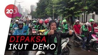 Demo Ojol di DPR Diwarnai Aksi Sweeping