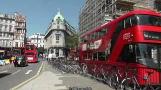 Buses, Traffic, London, Aldwych / Waterloo Bridge, Diversions, Delays August 2016