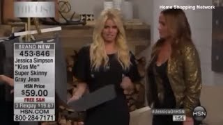 Jessica Simpson Appearing 'Drunk' on Home Shopping Network