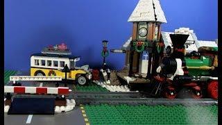 LEGO Winter Village Train Station 10259