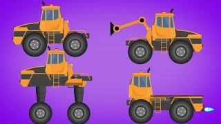Kids TV channel | Transformer | Extender Truck | Vacuum Suction Truck | Nitro Truck | Video For Baby