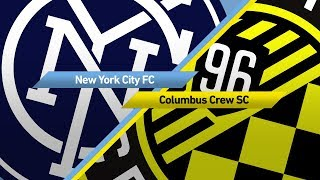 Highlights: New York City FC vs. Columbus Crew | November 5, 2017