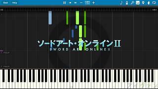 Synthesia: Sword Art Online 2 ED3:「シルシ」- LiSA (Shirushi)