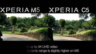 Sony Xperia M5 vs Xperia C5 Ultra Comparison - Camera, Benchmark, Speed Test