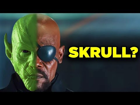 Avengers Theory IS NICK FURY A SKRULL SkrullSearch