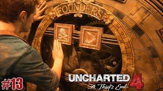 UNCHARTED 4   #13   Os Fundadores Piratas (GAMEPLAY EM PORTUGUÊS)