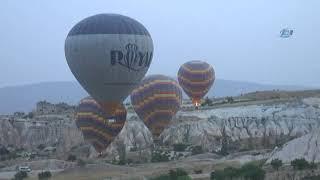 Kapadokya'ya 11 Ayda 2 Milyon 100 Bin Turist Geldi