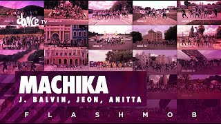 Machika (Flashmob) - J. Balvin, Jeon, Anitta   FitDance TV (Coreografia) Dance Video