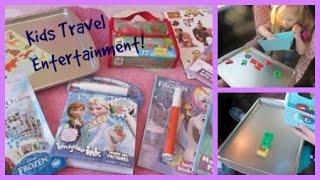 KIDS TRAVEL ENTERTAINMENT IDEAS