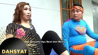 Ayu Dewi Ajarin Merry Sit Up, Merry Gak Bisa Bangun [Dahsyat] [2 Feb 2016]