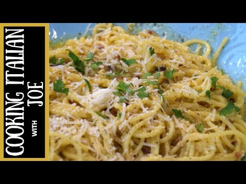 How to Make World's Best Spaghetti Carbonara from Rome Cooking Italian with Joe