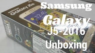 [Hindi - हिन्दी] Samsung Galaxy J5(2016) Unboxing and First Look Review | Sharmaji Technical