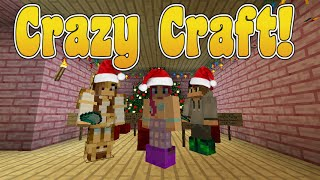 Sunday Adventures! Crazy Craft! Jingle Bells, Jakey Smells! | Ep. 22 | Minecraft | Amy Lee33