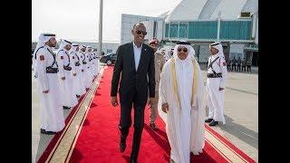 H.E. Paul Kagame in Qatar