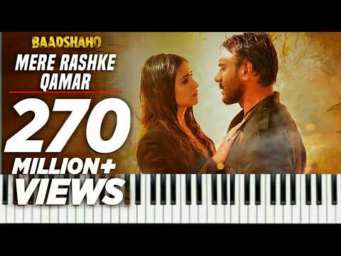 Mere Rashke Qamar song on Keyboard {Baadshaho} Ajay Devgn,Ileana,Nusrat & Rahat Fateh Ali Khan