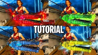 How To Upgrage All 4 Kraken Upgrades (Electric, Ice, Acid, Fire) (Black Ops 4 Voyage of Despair)