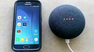 Google Home Mini Setup and Google mini Review - Make a Phone Call !