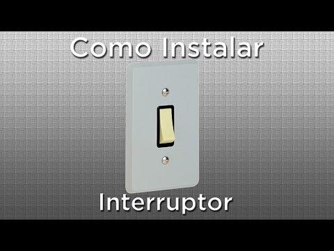 Como instalar interruptor