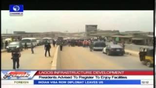 LAGOS  Fashola Inspects Projects In Ikorodu, Kosofe