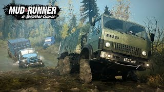 Spintires: MudRunner! What You Need to Know! Release Date, Vehicles, Mods & More!