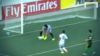 Humourous keeper error loses the game for Al-Shorta