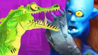 POISON DRAGON vs GIANT - Hungry Dragon Gameplay Part 2 | Pungence